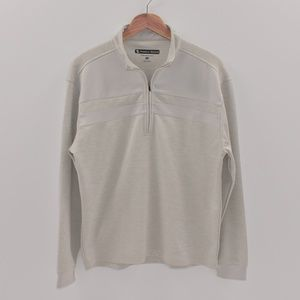 Pebble Beach Pullover Zip Up-size S